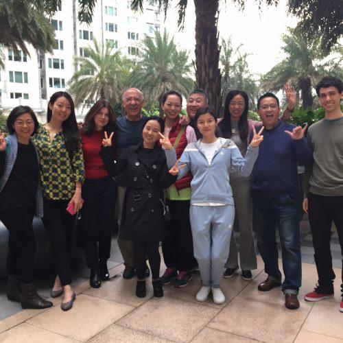 Gianfranco Brero. Taller de Comunicación. Hong Kong